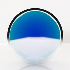 Free 3d Blank Abstract Blue Button Royalty Free Stock Photo - 24746125