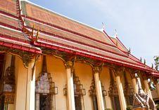 Free Thai Temple. Royalty Free Stock Photos - 24746568