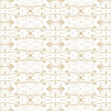 Free Seamless Floral Pattern Stock Photo - 24747460