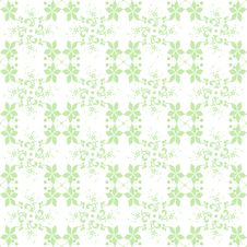 Free Seamless Floral Pattern Stock Image - 24747861
