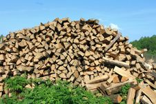 Free A Lot Of Firewood Stock Photos - 24750323