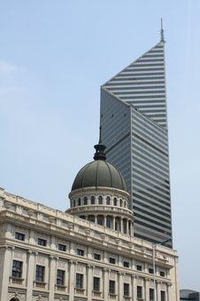 Free Tianjin City Building Stock Photos - 24752313