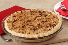 Free Crumb Pie Stock Photography - 24752752