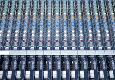 Control Table Royalty Free Stock Images