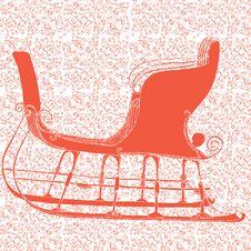 Santa`s Winter Sleigh Royalty Free Stock Photos