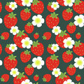 Free Strawberry Pattern Stock Photography - 24761502