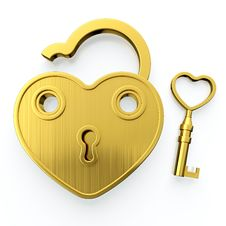 Free Golden Padlock Stock Images - 24760334
