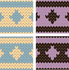 Free Knitting Imitation Royalty Free Stock Photos - 24761458