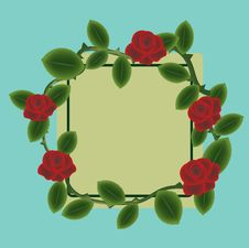 Free Floral Frame Stock Photo - 24761470
