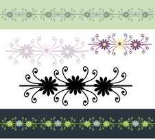 Ornamental Borders Royalty Free Stock Images