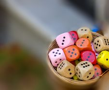 Free Dice Royalty Free Stock Image - 24765526