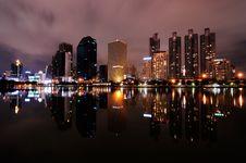 Free Bangkok At Night Stock Photo - 24767580
