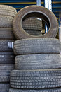 Free Used Tires Stock Photography - 24775952