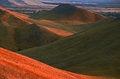 Free The Autumn Hills On Sundown. Royalty Free Stock Photos - 24785578