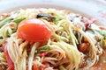 Free Thai Papaya Salad Stock Photography - 24788482