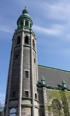 Free St. Irénée Church Tower Stock Photos - 24780903