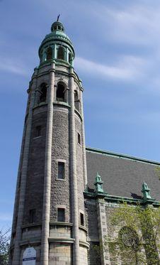 St. Irénée Church Tower Stock Photos