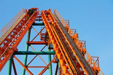 Free Roller Coaster Track Stock Photography - 24786762