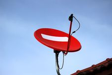 Free Satellite Dish Royalty Free Stock Photo - 24787225