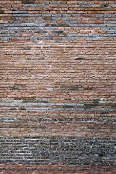 Free Textured Brick Wall Royalty Free Stock Image - 24789066