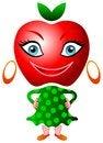 Free Apple Smile Royalty Free Stock Image - 24798356