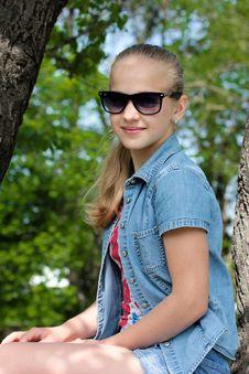 Summer Girl Stock Photography