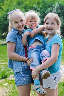 Free Three Sisters Royalty Free Stock Photography - 24791367