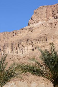 Desert Mountain Negev Desert Isreal Stock Image