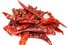 Free Dry Red Chili Pepper Stock Images - 24798354