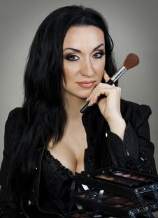 Make Up Artist Stock Images