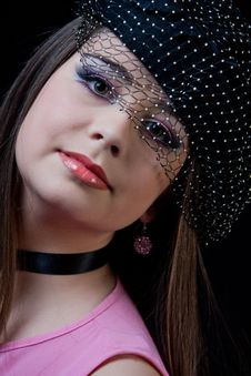 Free Beautiful Brunette Royalty Free Stock Photo - 24798965