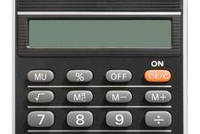Free Calculator (close-up) Royalty Free Stock Photo - 2480325