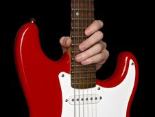 Free Guitar Fender Squier Stock Images - 2482714