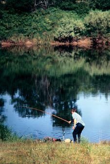 Free Fishing. Royalty Free Stock Photography - 2482717