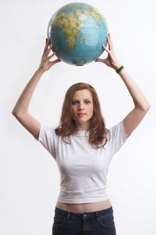 Free She Saved The Earth Royalty Free Stock Photo - 2482725