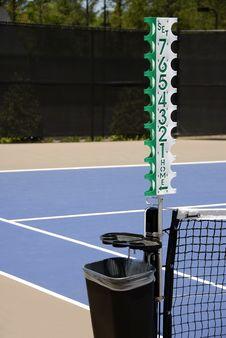 Tennis Valet And Scorekeeper Royalty Free Stock Image