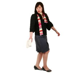 Free Asian Girl Look Back Stock Photos - 2483143