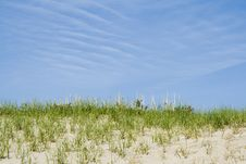 Free Blue Sky And Sand Royalty Free Stock Photo - 2483435