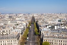 Free Champs Elysees Royalty Free Stock Image - 2483836