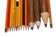 Free Different Pencils Stock Photography - 2484622