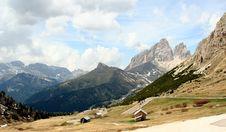Free Passo Pordoi Stock Photo - 2485340