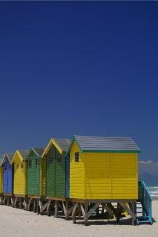 Free Beachfront Huts Stock Photography - 2485672