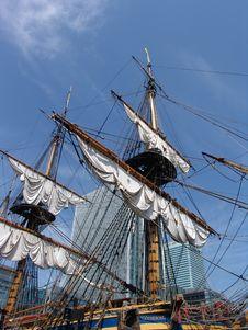 Free Tallship Docked In London Stock Photo - 2486030