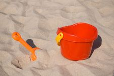 Free Beach Toys Royalty Free Stock Photos - 2487668