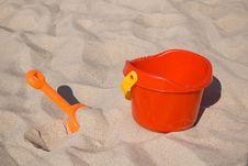 Beach Toys Royalty Free Stock Photos