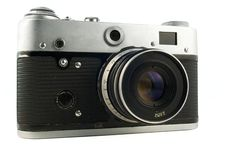 Free Old Range-finder Camera Stock Images - 2487744
