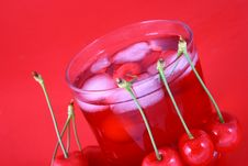 Free Juice Cherry Royalty Free Stock Photos - 2488198
