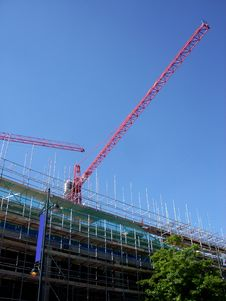 Free Crane In Romford Royalty Free Stock Photography - 2488617