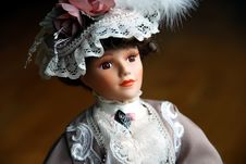 Free Elegant Doll Closeup Royalty Free Stock Images - 2489559