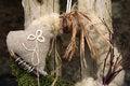 Free Handmade Wreath On The Door Royalty Free Stock Photo - 24800625